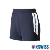 【超取】K-SWISS Woven Shorts 2運動短褲-女-藍