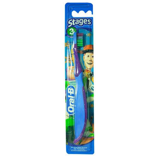 【奇買親子購物網】德國百靈 歐樂B 迪士尼兒童牙刷3號(5-7歲適用)/隨機出貨不挑款