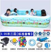 兒童充氣游泳池成人家庭寶寶加厚版 st542『伊人雅舍』