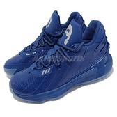【海外限定】adidas 籃球鞋 Dame 7 GCA 藍 全藍 聯名 Ric Flair 男鞋 里拉得【ACS】 FY2807