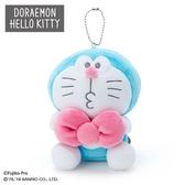 〔小禮堂〕哆啦A夢 x Hello Kitty 絨毛玩偶娃娃吊飾《藍白》掛飾.鑰匙圈 4901610-03733