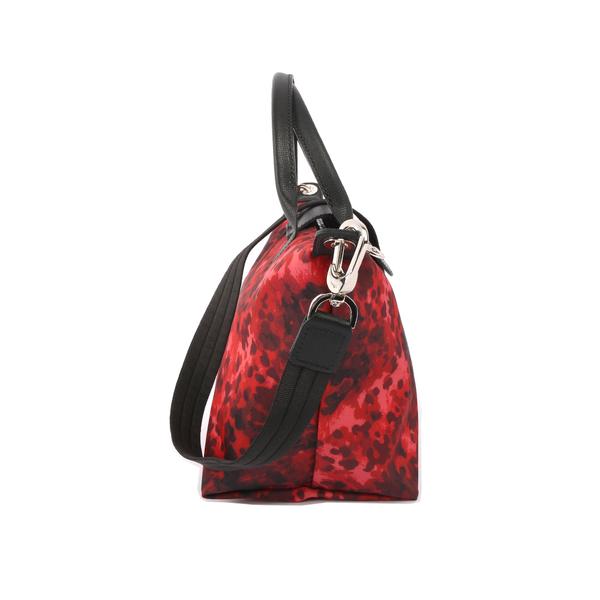 【LONGCHAMP】S號厚款尼龍二用包Le Pliage Neo (紅色迷彩) 1512 627 379
