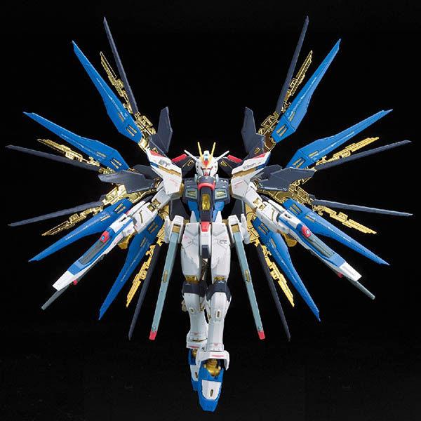 鋼彈組裝模型 BANDAI 機動戰士鋼彈 RG 1/144 ZGMF-X20A Strike Freedom 攻擊自由鋼彈 14