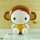 【震撼精品百貨】Hello Kitty 凱蒂貓~造型存錢筒~猴