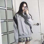 衛衣2018新款女長袖韓版寬鬆加絨加厚慵懶風情侶裝ins超火的外套 美芭