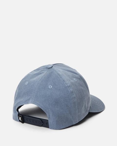 Hurley M BOSSED HAT BLACK 棒球帽-(藍)