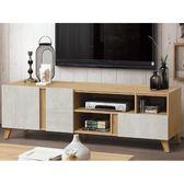 電視櫃 PK-638-1 芙洛琳6尺電視櫃【大眾家居舘】