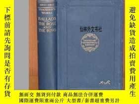二手書博民逛書店【罕見】1911年THACKERAY- Ballads The