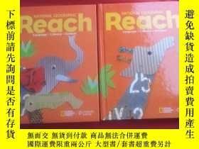 二手書博民逛書店NATIONAL罕見GEOGRAPHIC Reach 2本合售 精裝Y179070