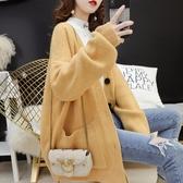 針織衫女 秋冬款毛衣女 大尺碼外套 針織外套 降價兩天