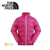 【The North Face 女童 550FP 羽絨外套《正粉紅》】NF00CHQ7HBU/防水透氣/兒童外套/鵝絨外套