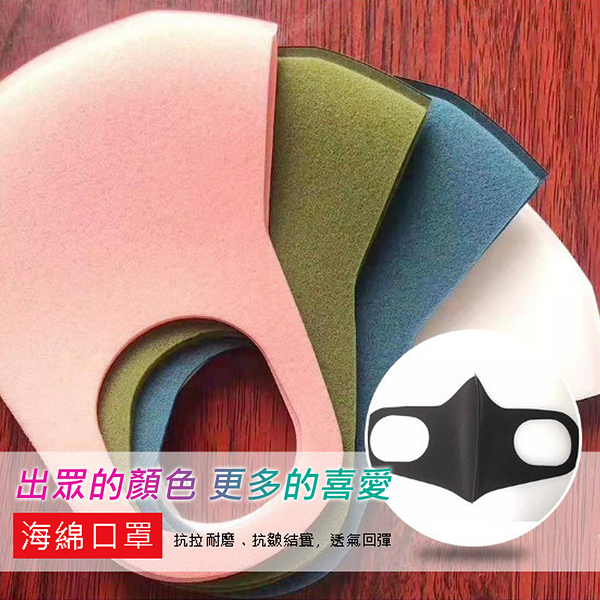 【立體口罩】兒童款 非一次性可水洗防塵防霧霾防護口罩 防花粉灰塵高效過濾口罩 高透氣海綿3D