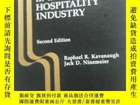 二手書博民逛書店Supervision罕見in the Hospitality