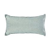 浮紋編織腰靠枕30x60cm芳草綠