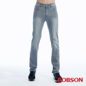 BOBSON 男款高腰膠原蛋白直筒褲(1820-85)
