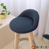 餐椅墊椅套防滑椅套椅子套座椅套布藝彈力椅餐桌【淘夢屋】