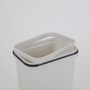 日式搖蓋垃圾桶6L