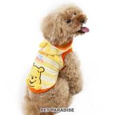 【PET PARADISE 寵物精品】DISNEY 維尼條紋連帽上衣(4S/3S/DSS/DS) 秋冬新品 寵物衣服