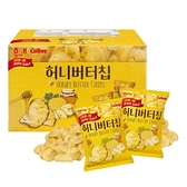 Calbee 蜂蜜奶油洋芋片 120公克 X 6包