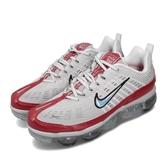 【六折特賣】Nike 慢跑鞋 Air Vapormax 360 灰 紅 男鞋 經典款 合體系列 運動鞋 【ACS】 CK2718-002
