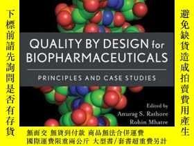 二手書博民逛書店Quality罕見by Design for Biopharmaceuticals: Principles and