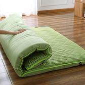 加厚榻榻米床墊地墊可折疊懶人床夏季防潮家用雙人打地鋪睡墊神器