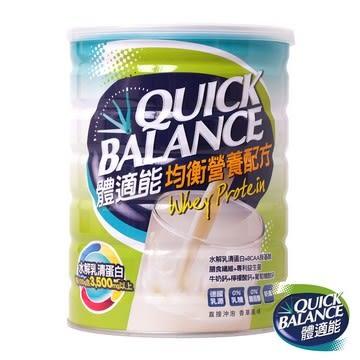 體適能 均衡營養配方 900g Quick Balance (0%乳糖 0%膽固醇)