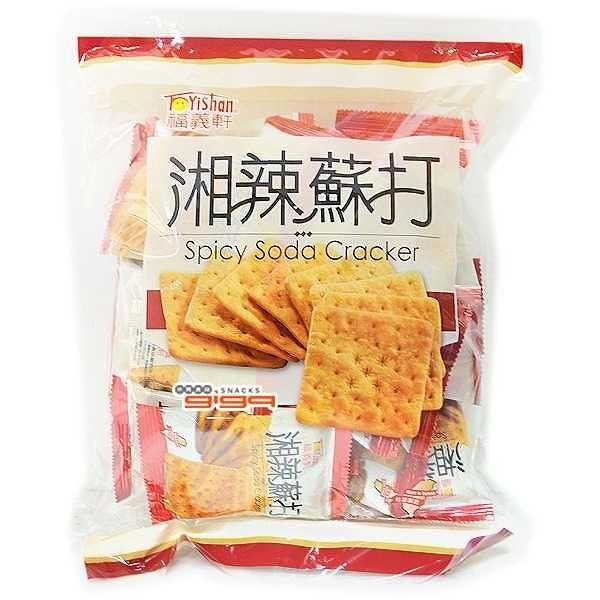 【特價】福義軒量販包-湘辣蘇打餅(340g/包)*2包【合迷雅好物超級商城】