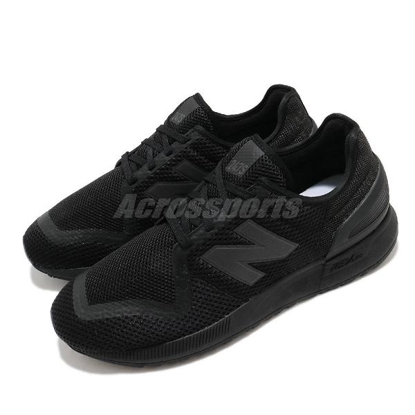 New Balance 休閒鞋 NB 247 黑 全黑 男鞋 女鞋 復古慢跑鞋 運動鞋 【ACS】 MS247MD3D