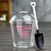 一次性硬塑料木糖杯慕斯杯提拉米蘇杯 布丁杯甜品杯烘焙帶蓋