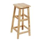 實木吧凳方凳吧台椅酒吧凳酒吧椅簡約高腳凳...