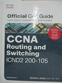 【書寶二手書T1/網路_EKP】Ccna Routing and Switching Icnd2 200 105 Official Cert Guide