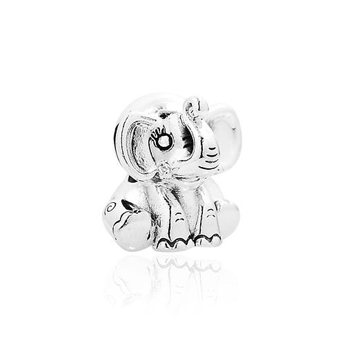 Pandora 潘朵拉 可愛小象Ellie 純銀墜飾 串珠 799088C00