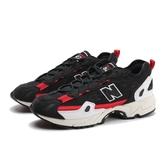 NEW BALANCE 慢跑鞋 NB827 黑紅 網布 麂皮拼接 男 (布魯克林) ML827AAL