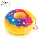 彩虹款【日本進口】甜甜圈 捏捏吊飾 吊飾 捏捏樂 軟軟 squishy 捏捏 Sammy the Patissier - 616500