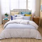 鴻宇 雙人特大兩用被套床包組 格西爾 美國棉授權品牌 台灣製2229