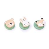 【美國Tender Leaf Toys】森林牆壁掛勾(木製兒童家具)