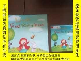 二手書博民逛書店英文版:Little罕見Red Riding Hood--Kinder Garden(精裝24開,帶光盤,無印章字