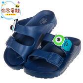 《布布童鞋》Disney迪士尼tsumtsum米老鼠怪獸大學藍色兒童拖鞋(15~22公分) [ D8C309B ]