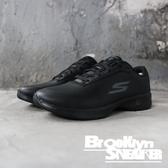 SKECHERS GO WALK 4 LUXURIOUS 黑 皮革 健走鞋 女 (布魯克林) 2019/3月 14909BBK