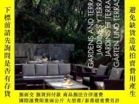 二手書博民逛書店100+罕見Tips Ideas:Gardens and Terraces花園與庭園,多語種版Y449990