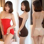 618好康鉅惠情趣透明抹胸短裙性感包臀齊屁B小短裙