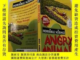 二手書博民逛書店ANGRY罕見ANIMALS(憤怒的動物)外文版Y200392