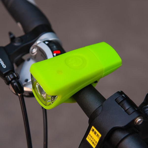 印象騎行USB充電自行車前燈