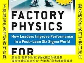 二手書博民逛書店Factory罕見Physics For ManagersY255562 Edward S. Pound Mc