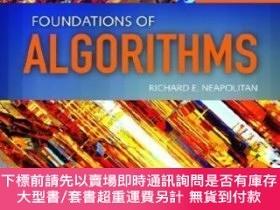 二手書博民逛書店Foundations罕見Of AlgorithmsY255174 Richard Neapolitan Jo