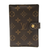 路易威登 LOUIS VUITTON LV 原花六孔活頁金環記事本 Agenda PM R20005  【BRAND OFF】