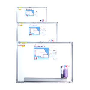 [奇奇文具]【成功 Success 磁性白板】 成功Success 020302 高級單面磁白板/背鍍鋅板 (2尺*3尺)