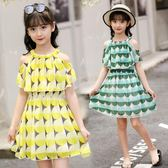 女童連身裙 2019夏季新款韓版洋氣雪紡洋裝 小女孩兒童裙子 CJ4925『寶貝兒童裝』