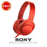 (預購)SONY MDR-100AAP (丹砂紅) 智慧型手機 線控 耳罩式耳機 支援 Hi-Res 音源 公司貨 內附原廠攜行袋